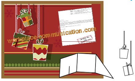 Christmas bulletin board ideas with gifts