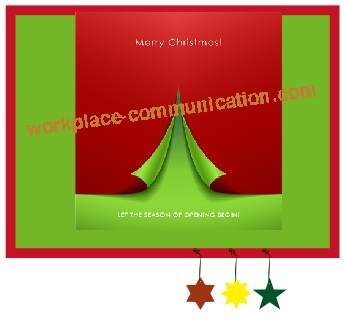 christmas bulletin board backround tip