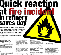Fire prevention slogans for safety campaigns