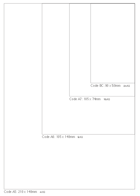 ... Creating Your Own Layout  Printing Paper Template