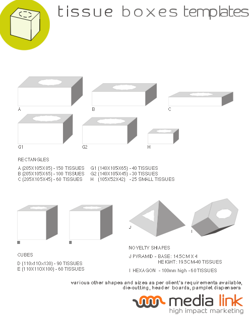 box packaging templates