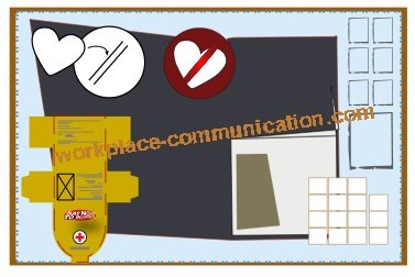 bulletin board designs to communicate to the workforce