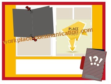 layout tips for bulletin board