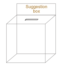 suggestion box ideas